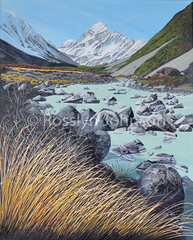 """Soaring"", Mt Cook SOLD"